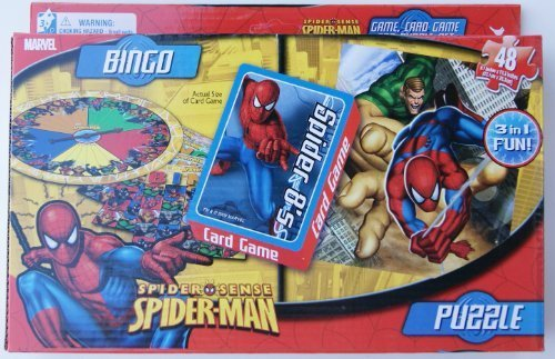 Spider Sense Spiderman 3-in-1 Game Set - 1