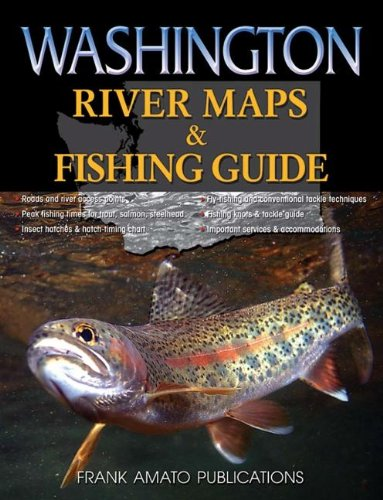 Washington River Maps & Fishing Guide (Seattle Fishing compare prices)