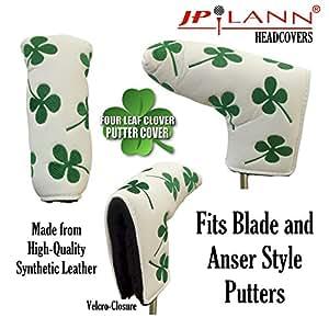Shamrock Embroidered Blade Putter Golf Headcover