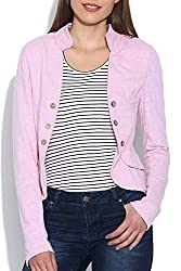Colors Couture Pink Little Johny Jacket Sweatshirt for women's