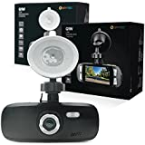 Spy Tec G1W Full HD 1080P H.264 Car DVR Camera Recorder Dashboard Cam | Black Box Video Recorder | 120° Wide Angle Lens | Authentic NT96650 + AR0330