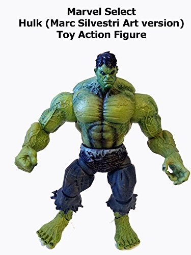 Review: Marvel Select Hulk (Marc Silvestri Art version) Toy Action Figure