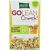 Kashi - Go Lean Crunch Cereal, Honey Almond Flax, 14 Oz. (Pack Of 3 )