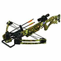 PSE Toxic Skullworks Crossbow Package, 150-Pound, Camo