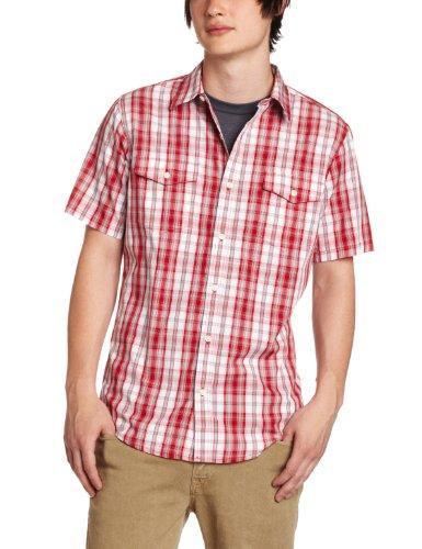 Hurley Men's Combo Short Sleeve Woven Shirt