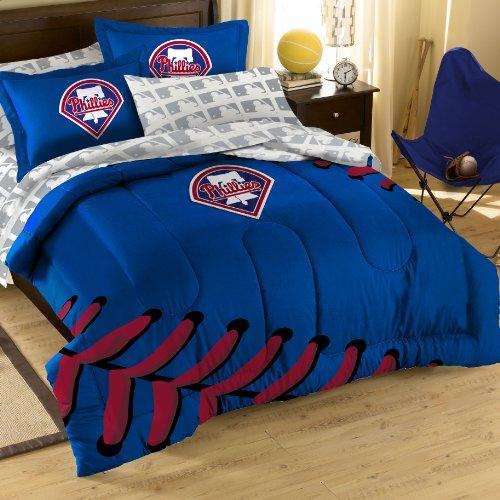 Mlb Philadelphia Phillies Bedding Set, Full front-864756