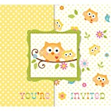 Bulk Owl Baby Shower Invitations (25 ct)