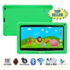 Contixo 9 Inch Quad Core Android 4.4 Kids Tablet, HD Display 1024x600, 1GB RAM, 8GB Storage, Dual Cameras, Wi-Fi, Bluetooth 4.0, Kids Place App & Google Play Store Pre-installed, 2015 May Edition, Kid-Proof Case (Green)