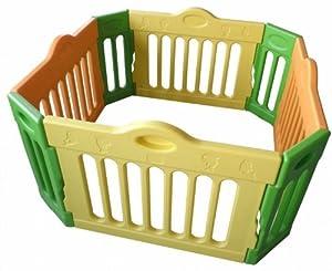 Baby Vivo - Parque infantil rectangular (4 esquinas, paquete principal) de Baby Vivo