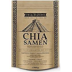 Chia Samen 1000g - Geprüfte Qualität zum fairen Preis