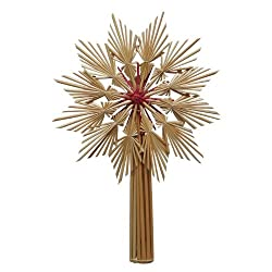 Christmas Straw Star Tree Topper Style # C