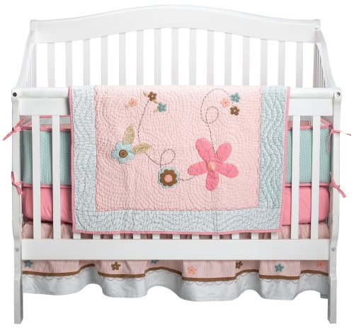 Sumersault Chloe 4 pc Crib Set