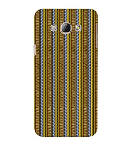 EPICCASE twisted drapes Mobile Back Case Cover For Samsung Galaxy A5 (Designer Case)