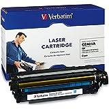 Verbatim Remanufactured Toner Cartridge Replacement for HP HP COLOR LASERJET 500, M551 CYAN TONER CARTRIDGE ( Cyan , 1-Pack )