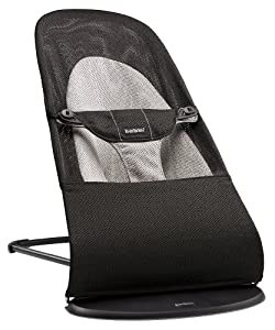 BABYBJORN Bouncer Balance Soft Mesh, Black/Gray