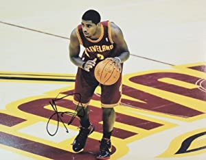 Kyrie Irving Autographed Hand Signed Cleveland Cavaliers 11x14 Photo - 2012 NBA... by Real+Deal+Memorabilia