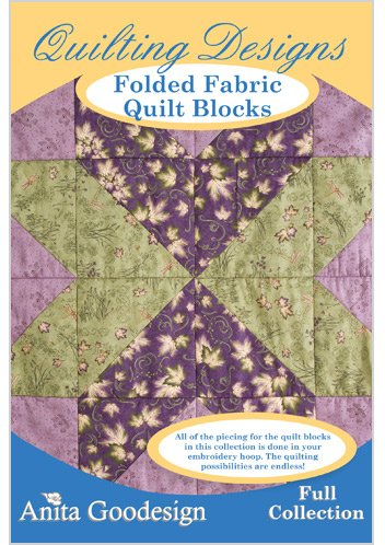 Anita Goodesign-Folded Fabric Quilt Blocks