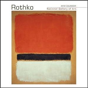 Mark Rothko National Gallery of Art Mini Wall Calendar 2012