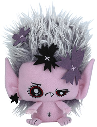 "Vamplets - Bad Luck Fairy - 12"" Tall Designer Toy Plush Doll - Great Gift For Monster High Fans - Brings Good Luck to Humans - Lives in Nightmare Nursery of Gloomvania -By My Little Pony designer G-Ra"