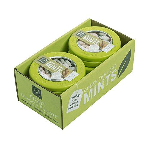 Sencha Naturals Refill Bag Green Tea Mints