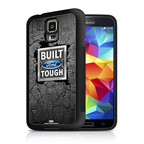 Built Ford Tough Samsung Galaxy S5 Black TPU Rubber Cell Phone Case (Ford Galaxy S5 Phone Case compare prices)