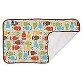 Planet Wise Designer Waterproof Diaper Pad, Owl