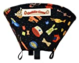 Cuddle Cone Pet Recovery Cone, Small - Black with Toys