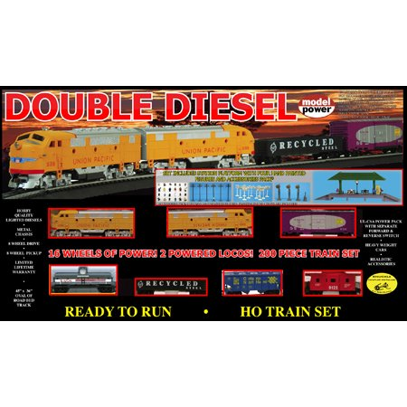 HO Double Diesel Set