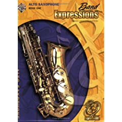 Band Expressions, Book One: Alto Saxophone, Texas Edition (Expressions Music Curriculum)