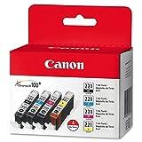 Canon CLI-221 - Black, Cyan, Magent