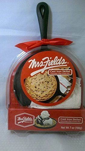 Cast Iron Mini Skillet with Bonus Cookie Mix (Mrs Fields Cookie Mix compare prices)