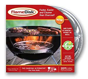 FlameDisk SG103 Charcoal Replacement, Set of 3