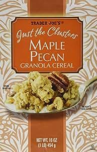 Amazon Com Trader Joe S Just The Clusters Maple Pecan