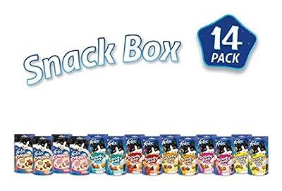 Felix Cat Treats Snack Box - Pack of 14 (780g)