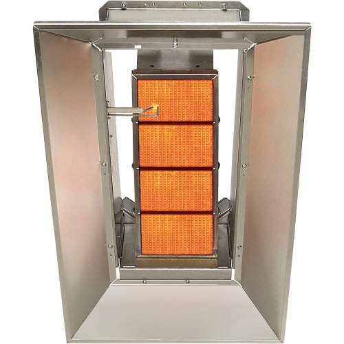 SunStar Heating Products Infrared Ceramic Heater - NG, 60,000 BTU, Model# SG6-N (Infrared Ceramic Heater Gas compare prices)