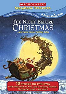 The Night Before Christmas And More Classic Holiday Titles Scholastic Storybook Treasures Special Edition 2-pack from NEW VIDEO GROUP