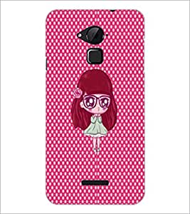 PrintDhaba Cartoon D-4828 Back Case Cover for COOLPAD NOTE 3 LITE (Multi-Coloured)