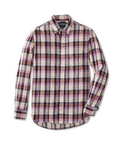 Gitman Vintage Men's Madras Button Down Shirt