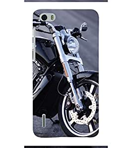 Extreme Bike 3D Hard Polycarbonate Designer Back Case Cover for Huawei Honor 6