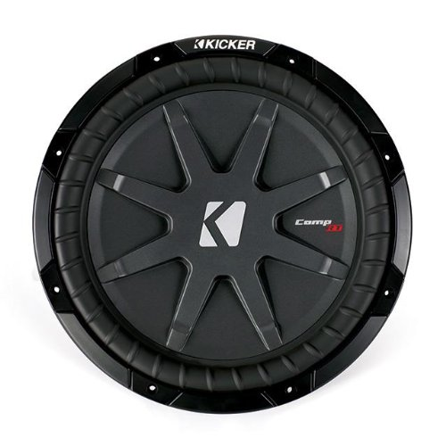 "Kicker 40Cwrt82 8"" Comprt Car Subwoofer - Each (Black)"