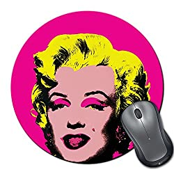 Zanky Marilyn Monroe Pop Art-ZYRMPD03683 Multicolor Printed MousePad