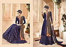 WESTERN DESIGNER PARTY WEAR ANARKALI SALWAR KAMEEZ SUIT PARTY WEAR BRIDAL WEDDING