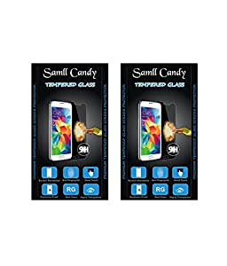 small candy 2.5D Curve Edge HD Ultra Clear Tempered Glass For Sony Xperia C(Pack of Two)