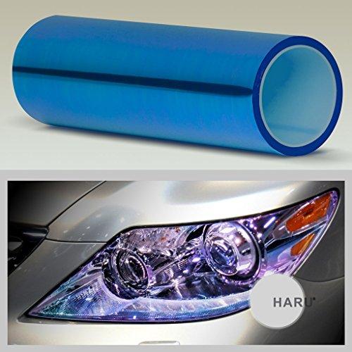 ultra-gloss-neo-chrome-film-sticker-headlight-tail-light-and-fog-light-tint-chameleon-blue-12x84