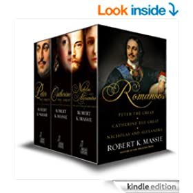 The Romanovs - Box Set: Peter the Great, Catherine the Great, Nicholas and Alexandra: The story of the Romanovs
