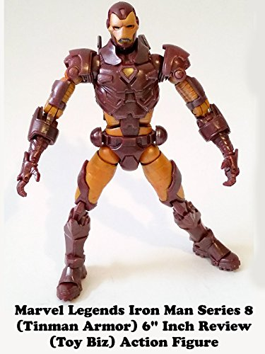 Review: Marvel Legends Iron Man Series 8 (Tinman Armor) 6