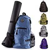 MEGALOVEMART® Crossbody Sling Yoga Backpack Good For Gym, Beach, Travel & Hiking - Choose Your Color