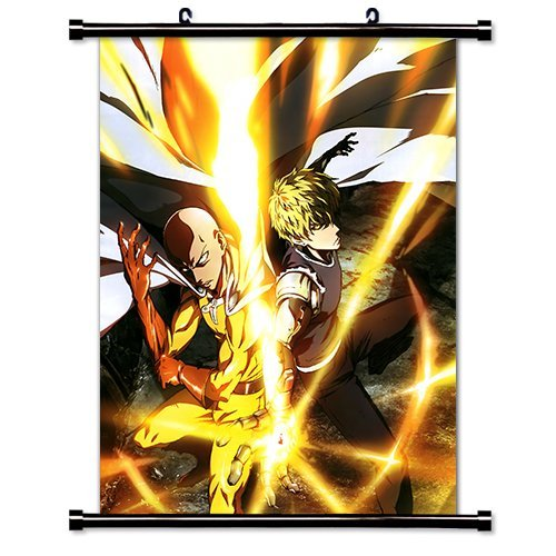 One Punch Man Anime Fabric Wall Scroll Poster (32 x 42) Inches