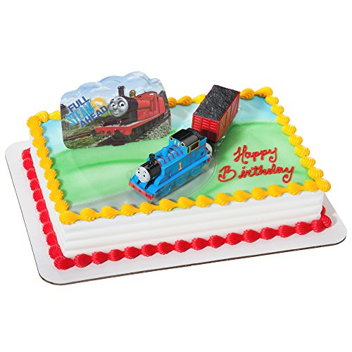 DecoPac Thomas and Coal Car Deco Set