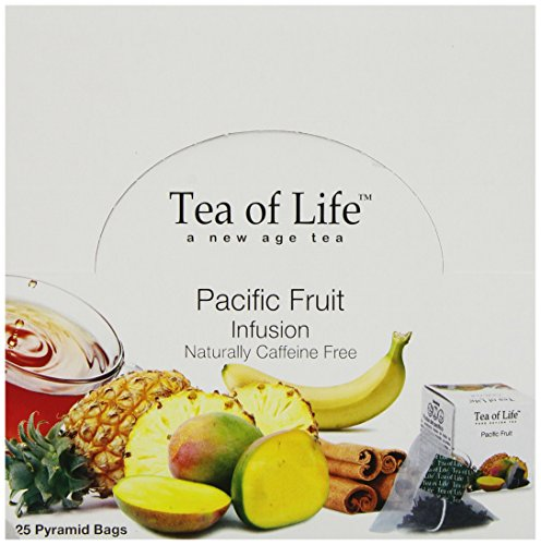 Tea Of Life Teas, Pacific Fruit, 25 Count